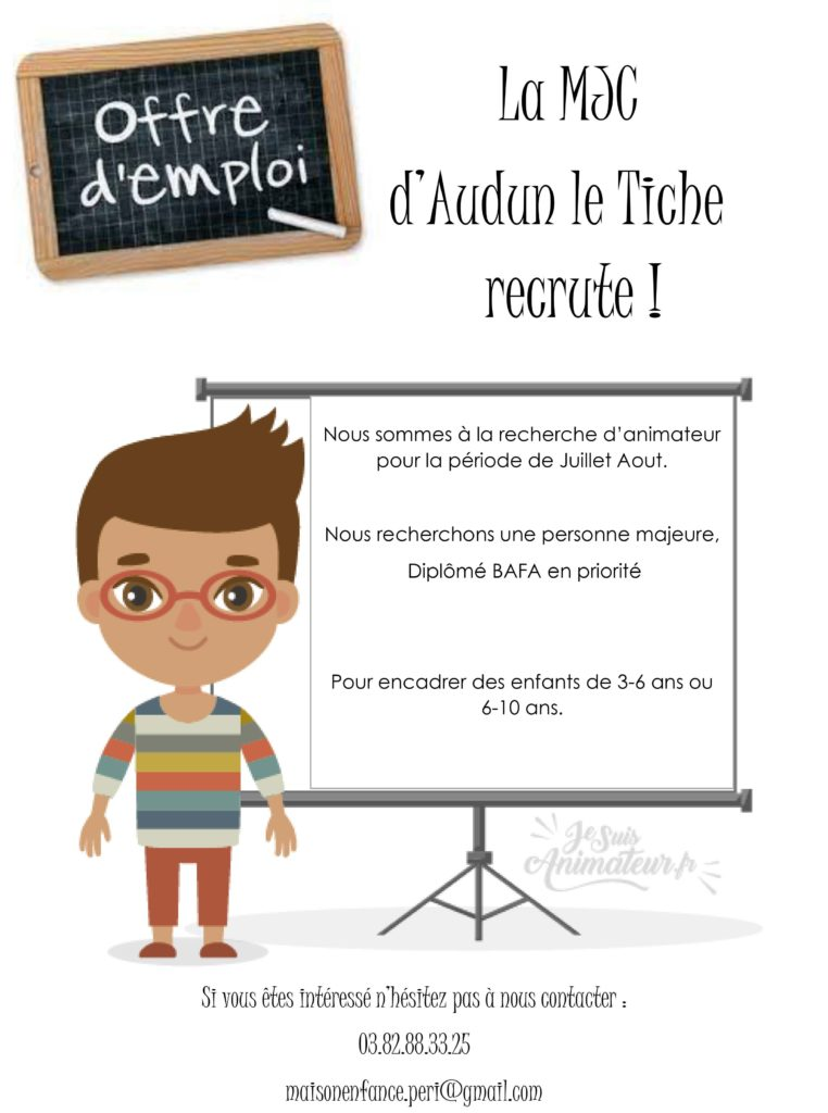 Read more about the article Offre d'emploi